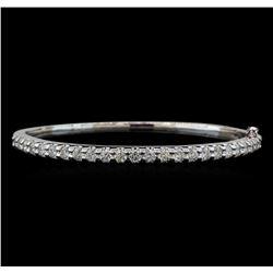 14KT White Gold 2.93 ctw Diamond Bracelet