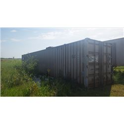53' SEACAN STORAGE CONTAINER (CONTAINER ONLY NO CONTENTS)