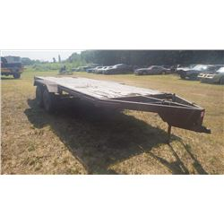 TANDEM AXLE BUMPER HITCH TRAILER 16X6 MOBILE HOME AXLES