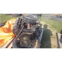 INTERNATIONAL 7.3 LTR DIESEL ENGINE FROM F350 FORD (RUNNING CONDITION)