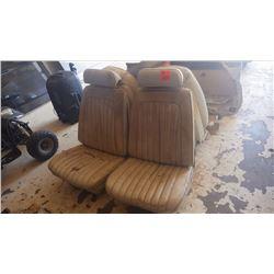 GTO 1968 - 69 BUCKET SEATS (WHITE)