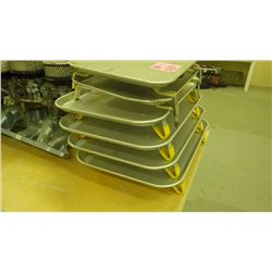 SET OF 6 DRIVE-IN RESTAURANT WINDOW TRAYS