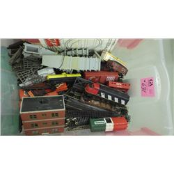 TUB OF HO TRAIN SET