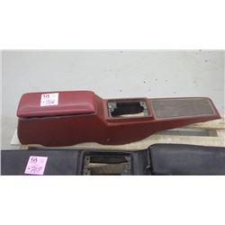 68 TO '69 GTO CENTRE CONSOLE (RED)