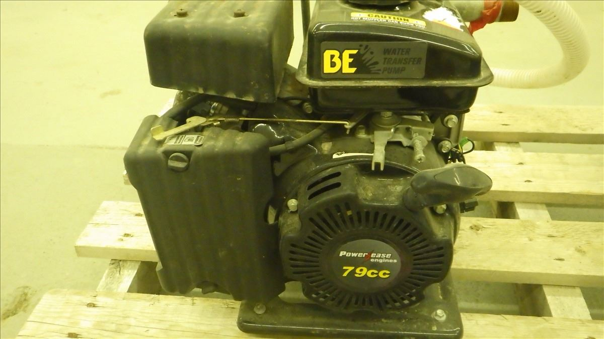 79CC POWER EAZE GAS ENGINE GAS WATER TRANSFER PUMP AND SURE