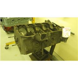 PONTIAC 455 ENGINE BLOCK WITH STAND