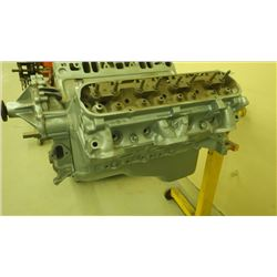 1970 400 ENGINE WITH #13 HEADS WITH STAND