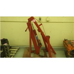 3 TON ENGINE CRANE (CANNOT PICK UP FOR 4 DAYS AFTER SALE)