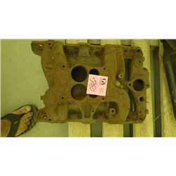 1 PONTIAC CAST IRON INTAKE MANIFOLD