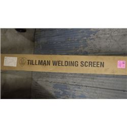 PORTABLE WELDING SCREEN (NEW IN BOX)