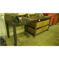 H.D. WORK BENCH WITH VICE