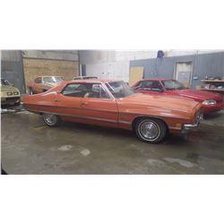 NO PST….BUYERS PREMIUM TO 500 MAX...1972  PONTIAC LEMANS LUXURY 4DR HARD TOP ONLY 45,000 ORIGINAL MI