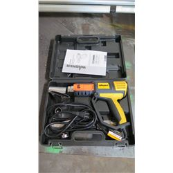 Wagner HT4500 Heavy Duty Heat Tool w/Case & Manual