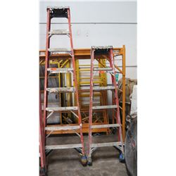 Qty 2 Ladders (8ft and 6ft)