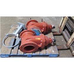 "Qty 2 Wedge Gate Valves 8"" - C509P2 RW8-INCH"