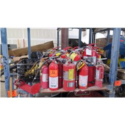 Misc. Fire Extinguishers - Approx. 17