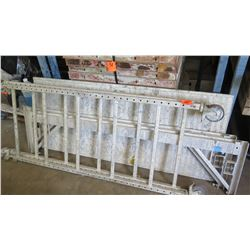 Portable Aluminum Scaffolding on Wheels