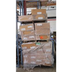 35 Boxes of Armstrong Acoustical Ceiling Tiles - Various Models/Types