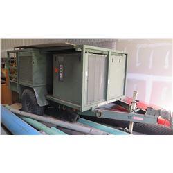 TekGard Air Conditioner / Heater System on Trailer