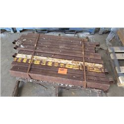 Contents of Pallet: Metal Railings