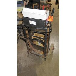 Pallet Banding/Strapping Material on Cart