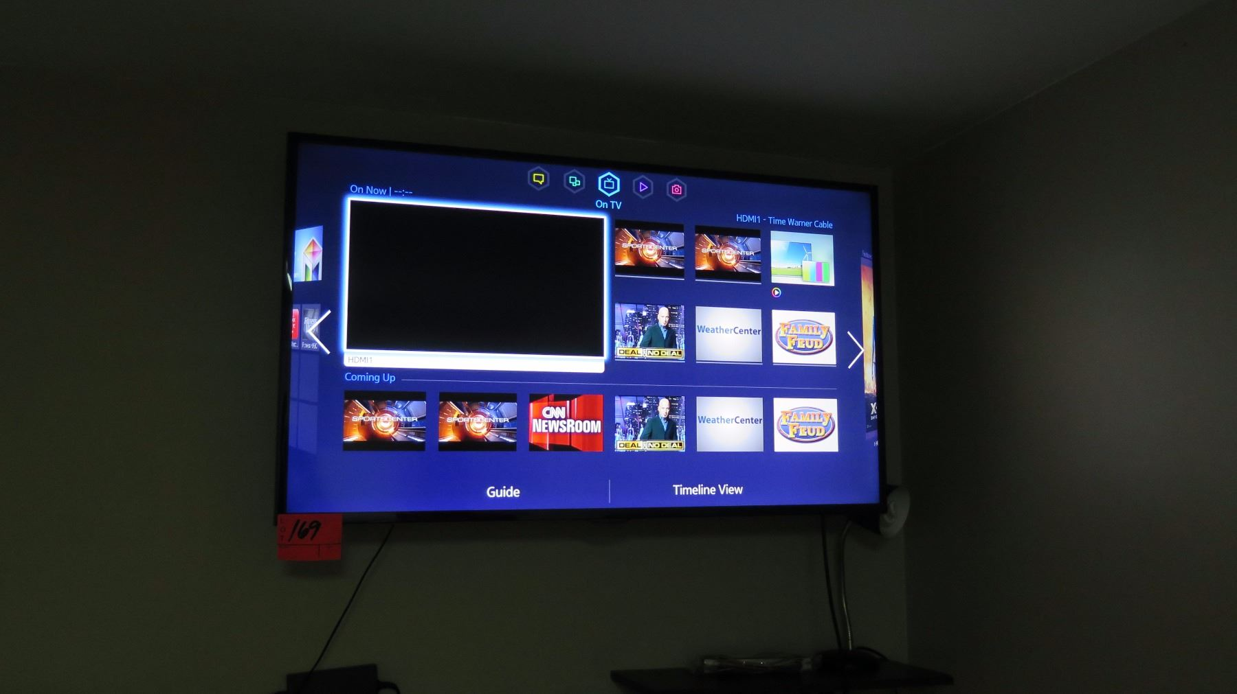Samsung 50-Inch Wall-Mount LED/LCD Television (model