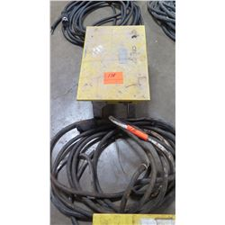 CEP 6506-GU Single-Phase Power Distribution Box with Cable, 6-Outlet, 50 Amp