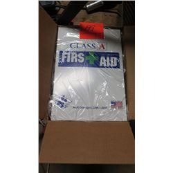 First Aid Kit, Class A, Unused