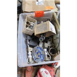 Contents of Container: Saw Blade, Fittings, etc.