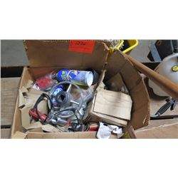 Contents of Box: Safety Glasses, Misc. Hardware