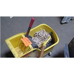 Rubbermaid Mop and Mop Bucket