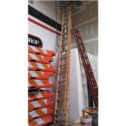 Orange Extension Ladder