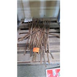 Lot of Misc. Concrete Stakes/Pins