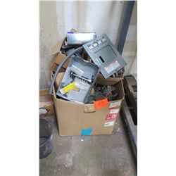 Contents of Box: Electrical Components, etc.