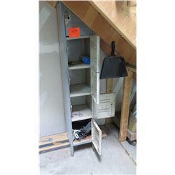 Tall, Single-Row Shop Lockers