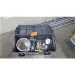 Test Mark Industries Pressure Meter Kit (unknown if complete)