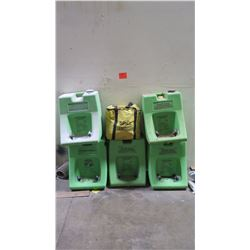 Qty 5 Eye Wash Stations & Spill Responder Kit