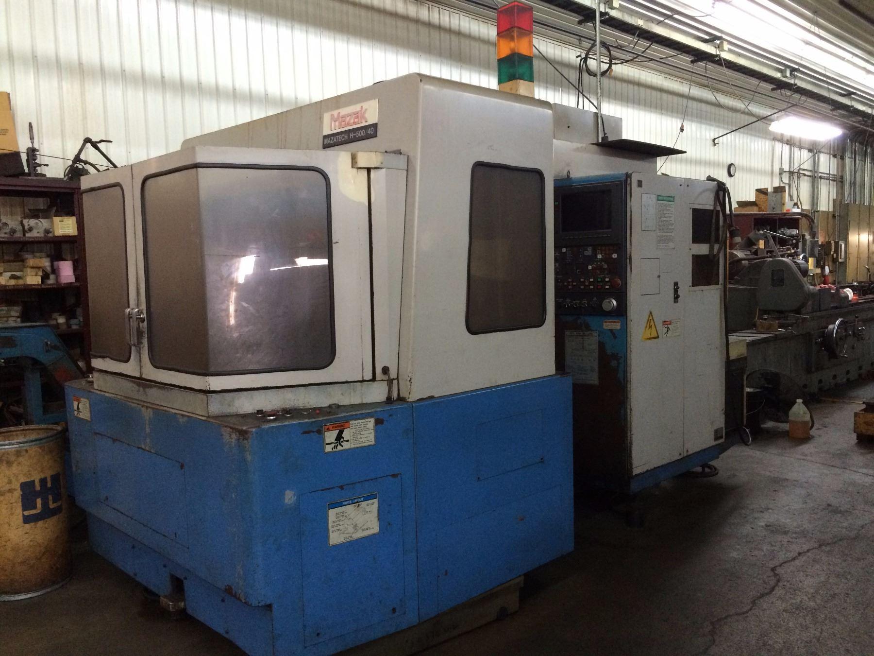 1990 Mazak H-500/40 Horizontal Machining Center