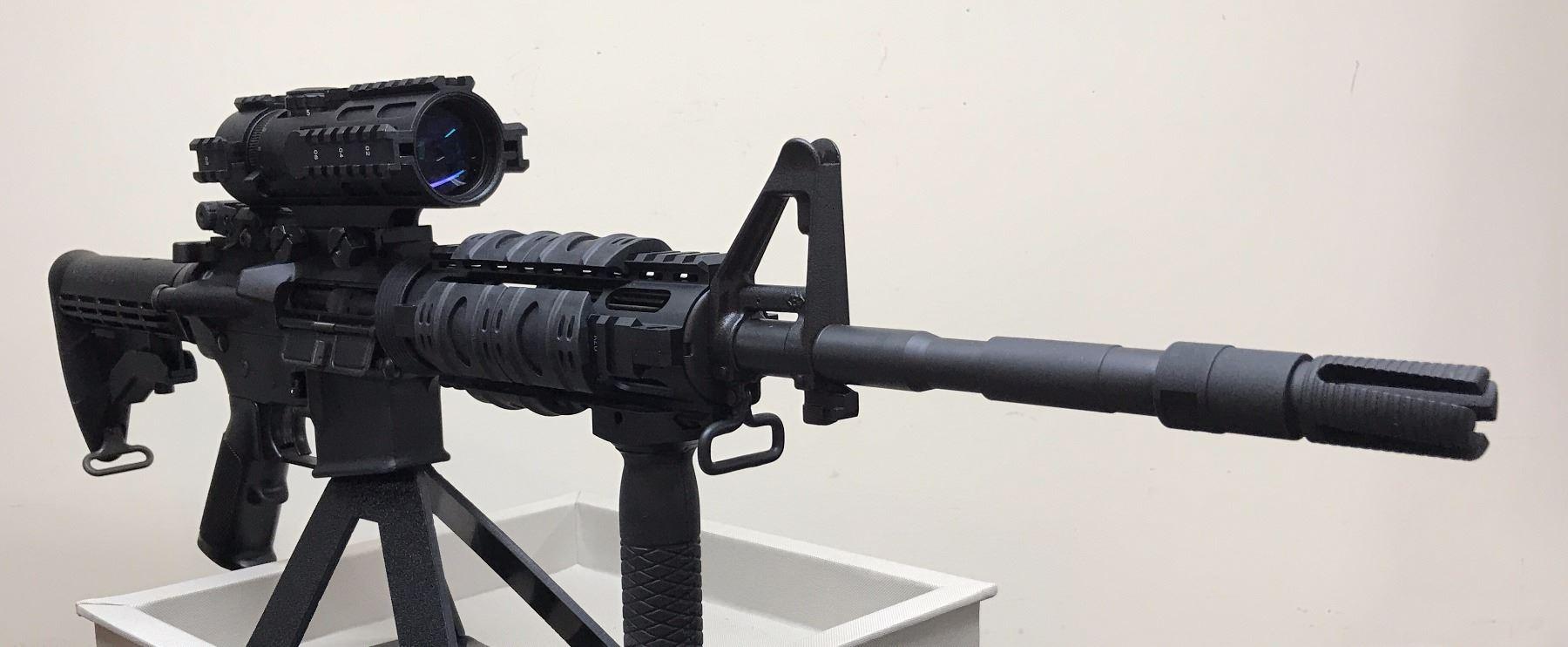 Colt M4 AR-15 Tactical Barrel, extras