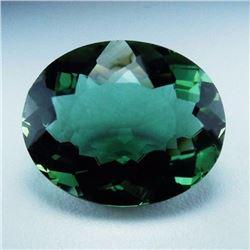 Natural Green Amethyst 21.84 cts - VVS