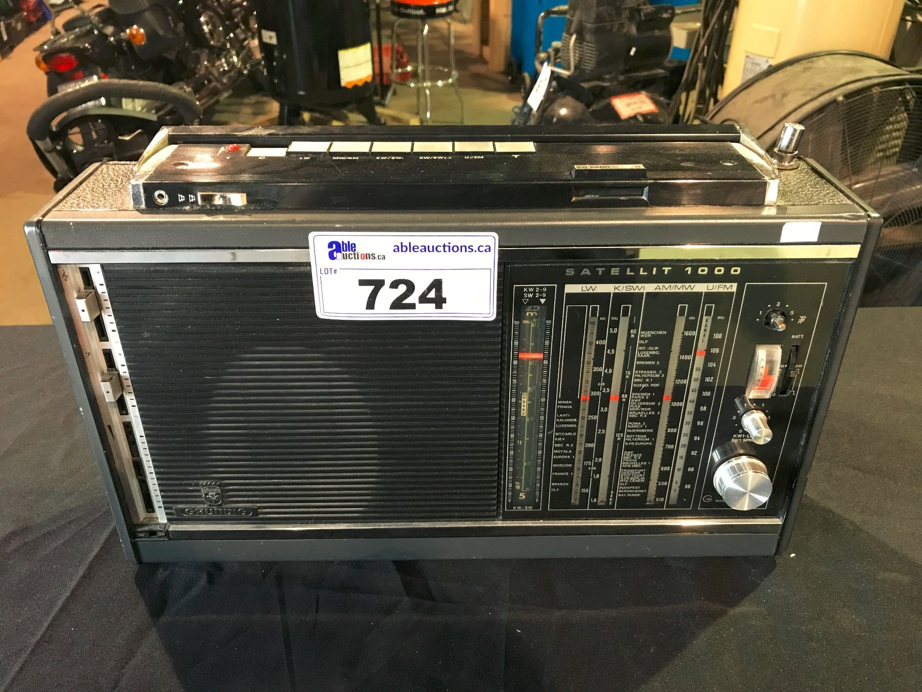 vintage grundig satellit 1000 shortwave radio receiver