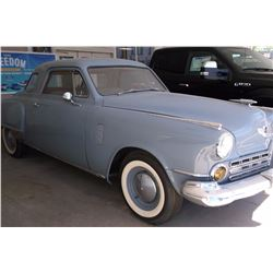 Restored 1947 Studebaker Commander- 2 Door Starlight Coupe- 70896 Miles- Frame up Restoration