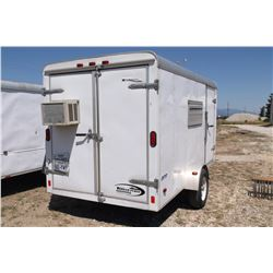 Journey By Pace American Cargo Trailer-12.5' X 6'- Escape Door- Sliding Windows on Sides