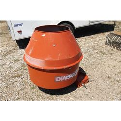 Mier 80 Cement Mixer- 3 Point- PTO