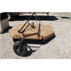 Five Point by King Kutter Rotary Mower- 6'- 3 Point- PTO