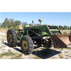 John Deere 4020 Tractor- Turbo-  Very Rare- Mechanical Front Wheel Assist