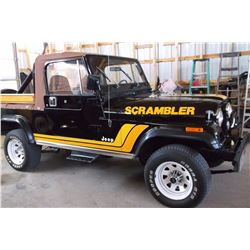 1981 Jeep Scrambler- All Original- Soft Top- 28471 Miles- 4X4- 4 Speed- Straight 6- 2 owners