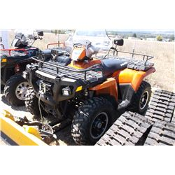 2008 Polaris Sportsman 800- Fuel Injected V-Twin- Selectable 4WD- Active Descent Control