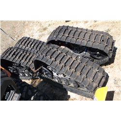 Polaris ATV Tracks- Fits Polaris, But Conversion Kits Available- Less Than 50 Miles on Tracks