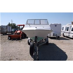 1984 Tide Runner- 16'-130 HP Johnson- Ocean Platform- Fully Enclosed Top